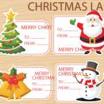 Santa Claus Cartoon Post-it 2019 Vector