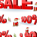 Santa Claus Promotion 2019 Vector