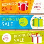 Christmas Gift Discount Promotion 2019 Vector