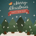 Christmas Tree Forest 2019 Vector