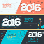 Christmas and New Year Carnival Vector