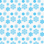 Christmas Snowflakes Collection 2019 Vector