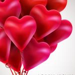 Love Balloon Flower 2019 Vector