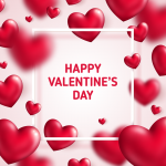 Various kinds of love surround Valentine's Day 2019 Vector