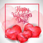 Ruby Heart Shape 2019 Vector