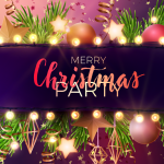 Golden Christmas 2019 Vector