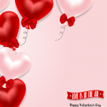 A floating heart-shaped balloon 2019 Vector