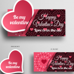 Valentine's Day Expressions 2019 Vector