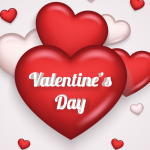 Love on Valentine's Day 2019 Vector
