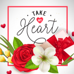 Gift Elements for Valentine's Day 2019 Vector