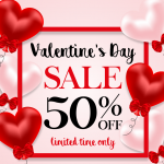 Valentine's Day Balloon Promotion 2019 Vector