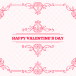 The Flower Patterns of Valentine's Day Lines 2019 Vector