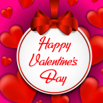 Cartoon bows for Valentine's Day 2019 Vector