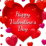Valentine's Day wishes for love 2019 Vector