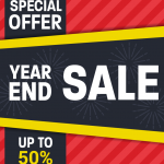 New year promotion 2019 Vector