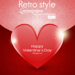 Rotating Valentine's Day 2019 Vector