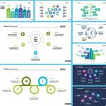 Circular Information Explanation Chart 2019 Vector