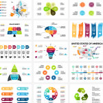 Various presentation pictures 2019 Vector