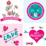Love flower 2019 Vector