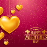 Cupid's Golden Heart 2019 Vector