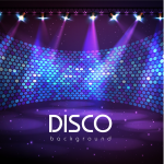 Stage Background under Lighting 2019 Vector