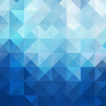 Blue Geometric Background 2019 Vector