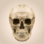 crystal skull 2019 Vector