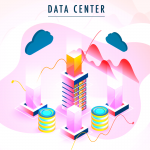 Data Center Illustration 2019 Vector