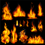 Burning Flames 2019 Vector