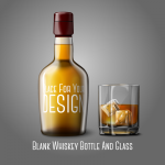 Whisky and Wine Cup Design 2019 Vector