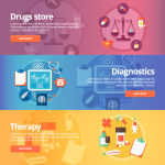 Banner of Health Care Web Page 2019 Vector
